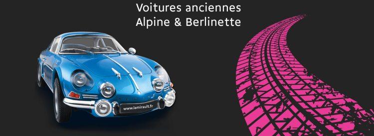 Exposition voiture anciennes et Alpine Journées Lamirault Occasions